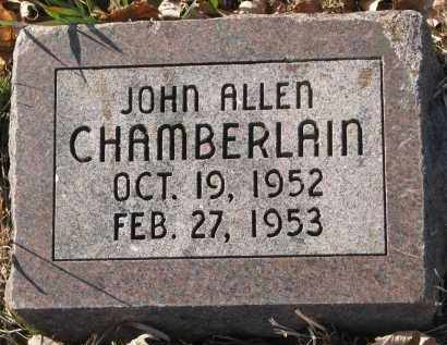 CHAMBERLAIN, JOHN ALLEN - Clay County, South Dakota | JOHN ALLEN CHAMBERLAIN - South Dakota Gravestone Photos