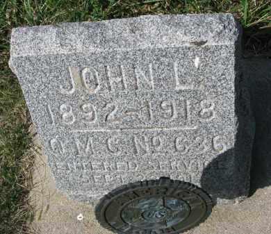 CHAMBERLAIN, JOHN L. - Clay County, South Dakota   JOHN L. CHAMBERLAIN - South Dakota Gravestone Photos