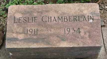 CHAMBERLAIN, LESLIE - Clay County, South Dakota | LESLIE CHAMBERLAIN - South Dakota Gravestone Photos