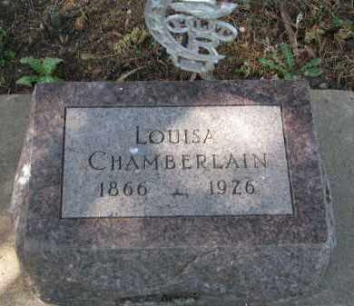 CHAMBERLAIN, LOUISA - Clay County, South Dakota | LOUISA CHAMBERLAIN - South Dakota Gravestone Photos