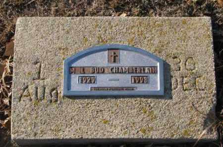 CHAMBERLAIN, M.L. BUD - Clay County, South Dakota   M.L. BUD CHAMBERLAIN - South Dakota Gravestone Photos