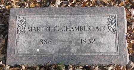 CHAMBERLAIN, MARTIN C. - Clay County, South Dakota | MARTIN C. CHAMBERLAIN - South Dakota Gravestone Photos