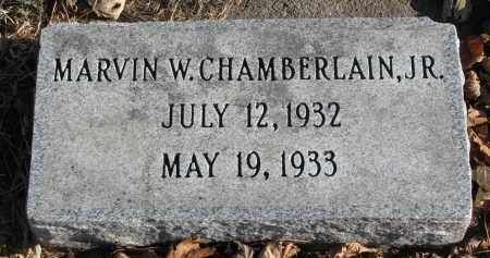 CHAMBERLAIN, MARVIN W. JR. - Clay County, South Dakota | MARVIN W. JR. CHAMBERLAIN - South Dakota Gravestone Photos