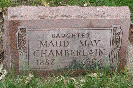 CHAMBERLAIN, MAUD MAY - Clay County, South Dakota   MAUD MAY CHAMBERLAIN - South Dakota Gravestone Photos