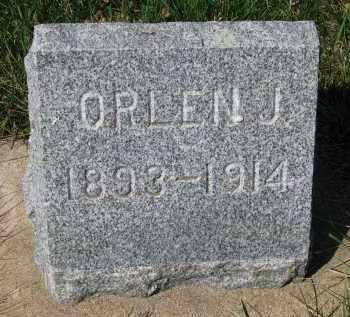 CHAMBERLAIN, ORLEN J. - Clay County, South Dakota | ORLEN J. CHAMBERLAIN - South Dakota Gravestone Photos
