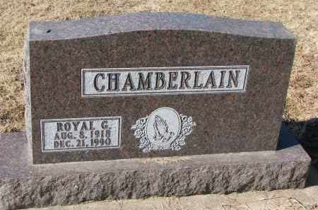 CHAMBERLAIN, ROYAL G. - Clay County, South Dakota | ROYAL G. CHAMBERLAIN - South Dakota Gravestone Photos