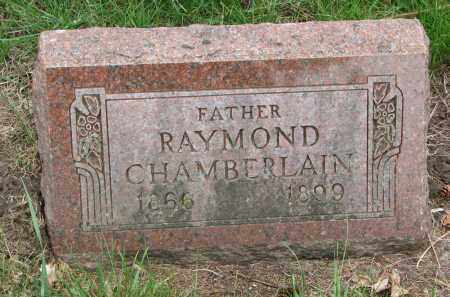 CHAMBERLAIN, RAYMOND - Clay County, South Dakota | RAYMOND CHAMBERLAIN - South Dakota Gravestone Photos