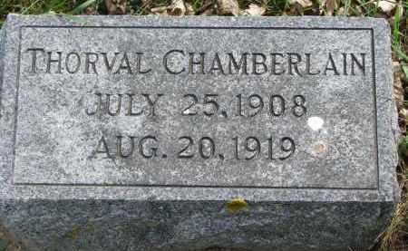 CHAMBERLAIN, THORVAL - Clay County, South Dakota | THORVAL CHAMBERLAIN - South Dakota Gravestone Photos