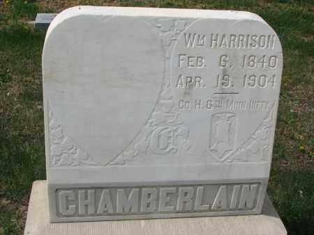 CHAMBERLAIN, WILLIAM HARRISON - Clay County, South Dakota | WILLIAM HARRISON CHAMBERLAIN - South Dakota Gravestone Photos