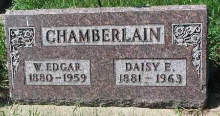 CHAMBERLAIN, W. EDGAR - Clay County, South Dakota | W. EDGAR CHAMBERLAIN - South Dakota Gravestone Photos