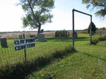 **CLAY POINT, WIDE VIEW - Clay County, South Dakota | WIDE VIEW **CLAY POINT - South Dakota Gravestone Photos