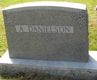 DANIELSON, A. - Clay County, South Dakota | A. DANIELSON - South Dakota Gravestone Photos