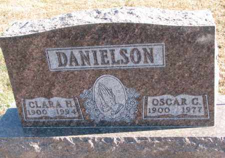 DANIELSON, OSCAR C. - Clay County, South Dakota | OSCAR C. DANIELSON - South Dakota Gravestone Photos