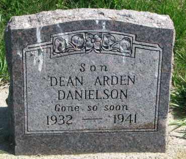 DANIELSON, DEAN ARDEN - Clay County, South Dakota | DEAN ARDEN DANIELSON - South Dakota Gravestone Photos
