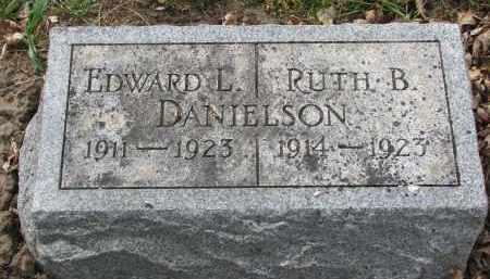DANIELSON, RUTH B. - Clay County, South Dakota | RUTH B. DANIELSON - South Dakota Gravestone Photos