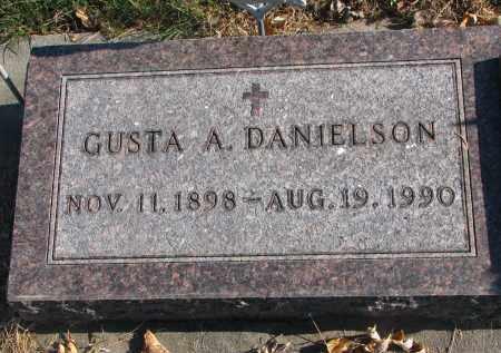 DANIELSON, GUSTA A. - Clay County, South Dakota | GUSTA A. DANIELSON - South Dakota Gravestone Photos