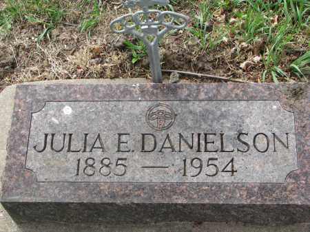 DANIELSON, JULIA E. - Clay County, South Dakota | JULIA E. DANIELSON - South Dakota Gravestone Photos