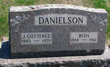 DANIELSON, BEDA - Clay County, South Dakota | BEDA DANIELSON - South Dakota Gravestone Photos