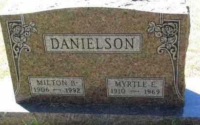 DANIELSON, MYRTLE E. - Clay County, South Dakota | MYRTLE E. DANIELSON - South Dakota Gravestone Photos