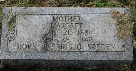 DANIELSON, MARGRET - Clay County, South Dakota | MARGRET DANIELSON - South Dakota Gravestone Photos