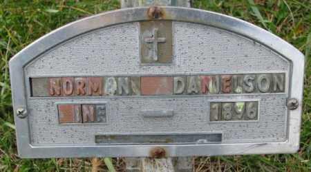 DANIELSON, NORMAN - Clay County, South Dakota | NORMAN DANIELSON - South Dakota Gravestone Photos