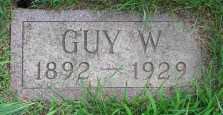 DOWLIN, GUY W. - Clay County, South Dakota | GUY W. DOWLIN - South Dakota Gravestone Photos