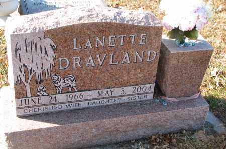 DRAVLAND, LANETTE - Clay County, South Dakota | LANETTE DRAVLAND - South Dakota Gravestone Photos