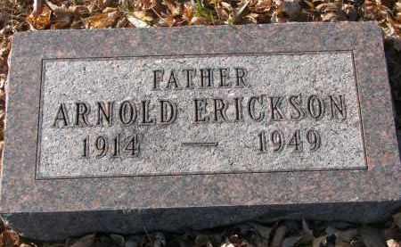 ERICKSON, ARNOLD - Clay County, South Dakota   ARNOLD ERICKSON - South Dakota Gravestone Photos