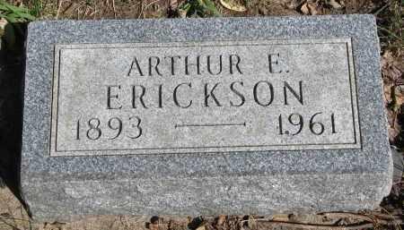 ERICKSON, ARTHUR E. - Clay County, South Dakota | ARTHUR E. ERICKSON - South Dakota Gravestone Photos