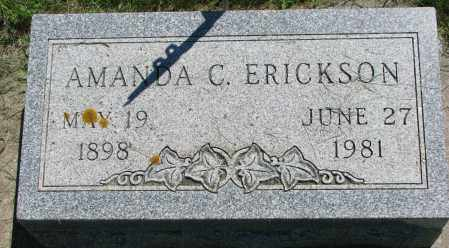 ERICKSON, AMANDA C. - Clay County, South Dakota | AMANDA C. ERICKSON - South Dakota Gravestone Photos