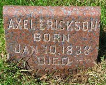 ERICKSON, AXEL - Clay County, South Dakota | AXEL ERICKSON - South Dakota Gravestone Photos