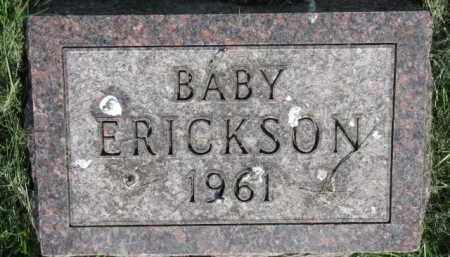 ERICKSON, BABY - Clay County, South Dakota | BABY ERICKSON - South Dakota Gravestone Photos