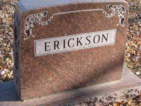 ERICKSON, FAMILY STONE - Clay County, South Dakota | FAMILY STONE ERICKSON - South Dakota Gravestone Photos