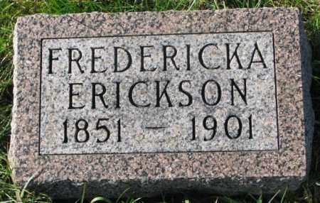 ERICKSON, FREDERICKA - Clay County, South Dakota | FREDERICKA ERICKSON - South Dakota Gravestone Photos