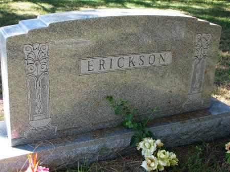 ERICKSON, FAMILY STONE - Clay County, South Dakota   FAMILY STONE ERICKSON - South Dakota Gravestone Photos