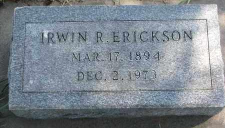 ERICKSON, IRWIN R. - Clay County, South Dakota | IRWIN R. ERICKSON - South Dakota Gravestone Photos