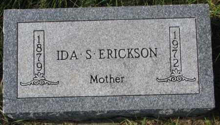 ERICKSON, IDA S. - Clay County, South Dakota | IDA S. ERICKSON - South Dakota Gravestone Photos
