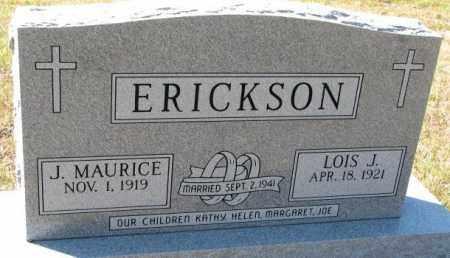 ERICKSON, LOIS J. - Clay County, South Dakota | LOIS J. ERICKSON - South Dakota Gravestone Photos