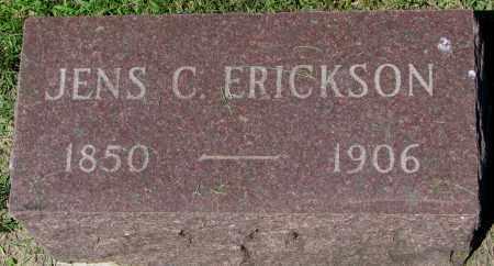 ERICKSON, JENS C. - Clay County, South Dakota | JENS C. ERICKSON - South Dakota Gravestone Photos