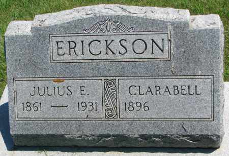 ERICKSON, CLARABELL - Clay County, South Dakota | CLARABELL ERICKSON - South Dakota Gravestone Photos