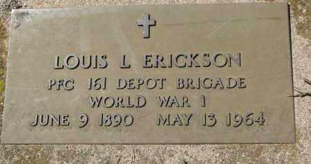 ERICKSON, LOUIS L. (WW1) - Clay County, South Dakota | LOUIS L. (WW1) ERICKSON - South Dakota Gravestone Photos