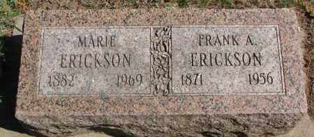 ERICKSON, MARIE - Clay County, South Dakota | MARIE ERICKSON - South Dakota Gravestone Photos