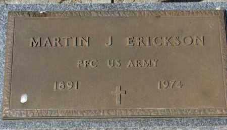 ERICKSON, MARTIN J. (MILITARY) - Clay County, South Dakota | MARTIN J. (MILITARY) ERICKSON - South Dakota Gravestone Photos