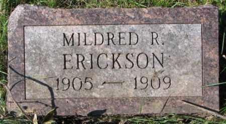 ERICKSON, MILDRED R. - Clay County, South Dakota | MILDRED R. ERICKSON - South Dakota Gravestone Photos