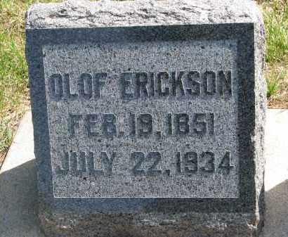 ERICKSON, OLOF - Clay County, South Dakota   OLOF ERICKSON - South Dakota Gravestone Photos