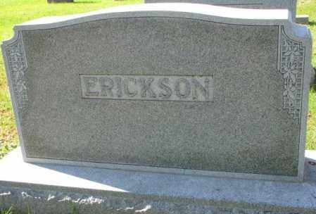 ERICKSON, PLOT - Clay County, South Dakota | PLOT ERICKSON - South Dakota Gravestone Photos