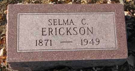 ERICKSON, SELMA C. - Clay County, South Dakota   SELMA C. ERICKSON - South Dakota Gravestone Photos