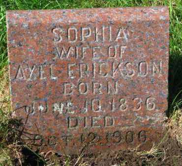 ERICKSON, SOPHIA - Clay County, South Dakota   SOPHIA ERICKSON - South Dakota Gravestone Photos