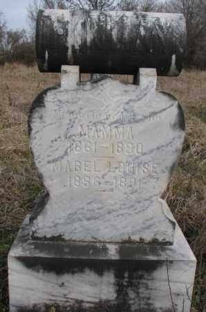 FINLAY, MABEL LOUISE - Clay County, South Dakota | MABEL LOUISE FINLAY - South Dakota Gravestone Photos