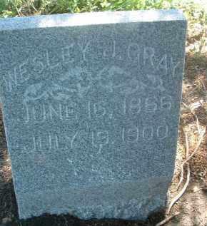 GRAY, WESLEY J. - Clay County, South Dakota | WESLEY J. GRAY - South Dakota Gravestone Photos